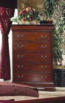 Coaster Louis Philippe Cherry Chest Available Online in Dallas Fort Worth Texas
