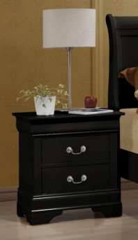 Coaster Louis Philippe Black Night Stand Available Online in Dallas Fort Worth Texas