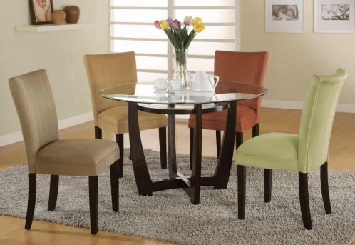 Coaster Bloomfield Round Dining Table Available Online in Dallas Fort Worth Texas
