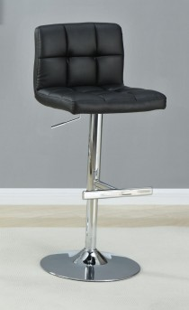 Coaster Dandy Adjustable Black Barstool Available Online in Dallas Fort Worth Texas