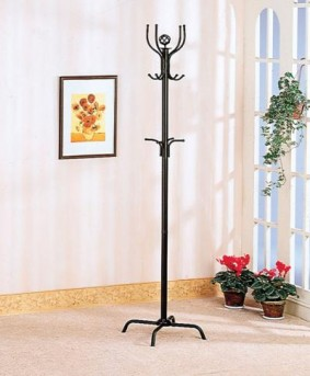 Coaster Satin Coat Rack Available Online in Dallas Fort Worth Texas