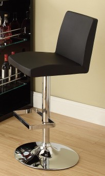 Coaster Sleek Black Barstool Available Online in Dallas Fort Worth Texas