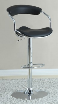 Coaster The Modern Black Barstool Available Online in Dallas Fort Worth Texas