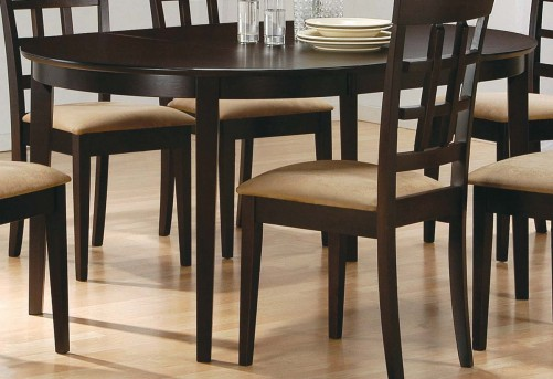 Coaster Hyde Oval Dining Table Available Online in Dallas Fort Worth Texas