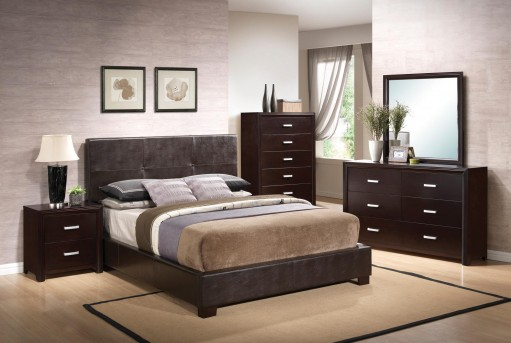 Andreas Queen 5pc Upholstered Bedroom Group Available Online in Dallas Texas