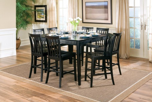 Coaster Roxton Black Counter Height Table Available Online in Dallas Fort Worth Texas
