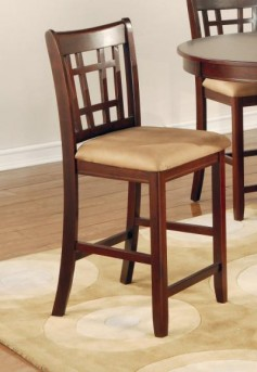 Coaster Lavon Chestnut Counter Height Chair Available Online in Dallas Fort Worth Texas