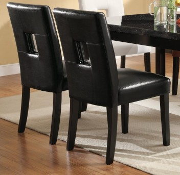 Timothy Black Side Chair Available Online in Dallas Fort Worth Texas