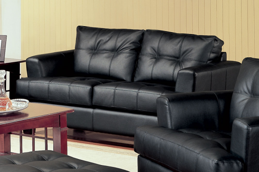 Coaster Samuel Black Loveseat Available Online in Dallas Fort Worth Texas