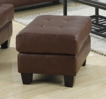 Coaster Samuel Dark Brown Ottoman Available Online in Dallas Fort Worth Texas