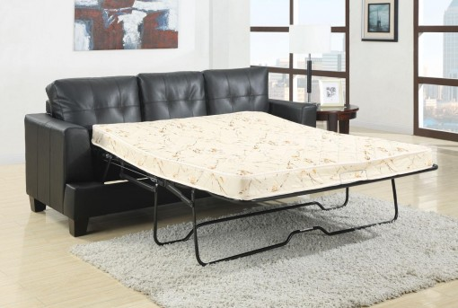 Coaster Samuel Black Sleeper Sofa Available Online in Dallas Fort Worth Texas