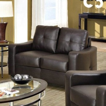 Coaster Jasmine Brown Loveseat Available Online in Dallas Fort Worth Texas