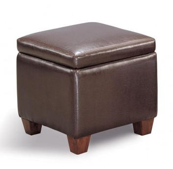 Coaster San Martin Dark Brown Storage Ottoman Available Online in Dallas Fort Worth Texas