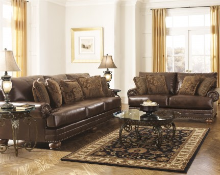 Ashley Chaling DuraBlend 2pc Sofa & Loveseat Set Available Online in Dallas Fort Worth Texas