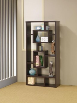Coaster Kong Cappuccino Bookshelf Available Online in Dallas Fort Worth Texas