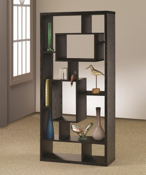Coaster Kong Black Bookcase Available Online in Dallas Fort Worth Texas