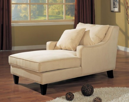 Coaster Accent Seating Beige Chaise Lounge Available Online in Dallas Fort Worth Texas
