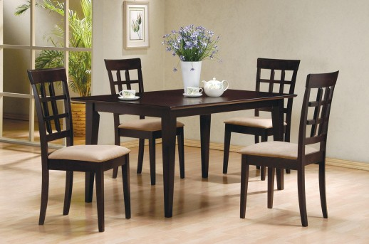 Coaster Hyde 5pc Wheatback Dining Room Set Available Online in Dallas Fort Worth Texas