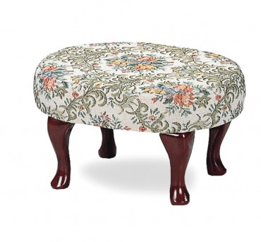Coaster Alamgeer Cherry Upholstered Foot Stool Available Online in Dallas Fort Worth Texas