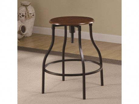 Coaster Sandy Crowd Cherry Adjustable Bar Stool Available Online in Dallas Fort Worth Texas