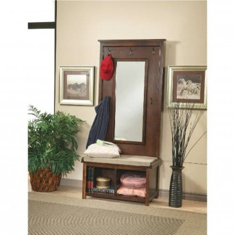 Coaster Cushion Hall Tree Available Online in Dallas Fort Worth Texas