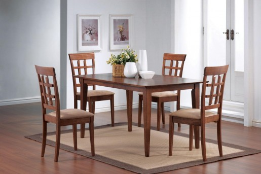 Leigh 5pc Wheat Back Dining Room Set Available Online in Dallas Fort Worth Texas