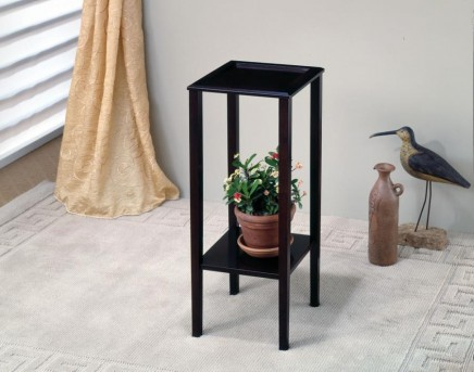 Coaster Taiwan Cappuccino Square Plant Stand Available Online in Dallas Fort Worth Texas