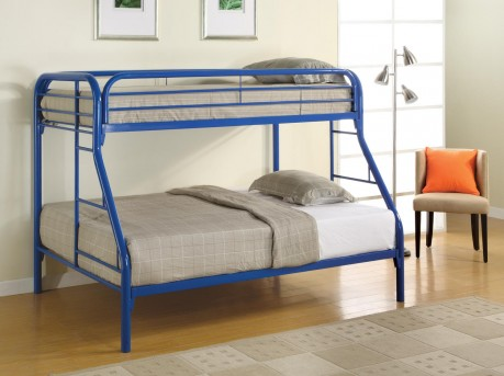 Coaster Fordham Blue Twin/Full Bunk Bed Available Online in Dallas Fort Worth Texas