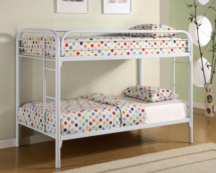 Coaster Fordham White Twin/Twin Bunk Bed Available Online in Dallas Fort Worth Texas