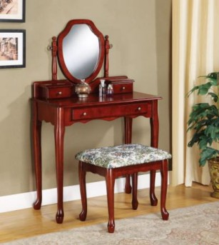 Coaster Queen Anne Vanity Set Available Online in Dallas Fort Worth Texas