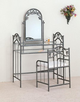 Coaster Nickel Bronze 2pc Vanity Set Available Online in Dallas Fort Worth Texas