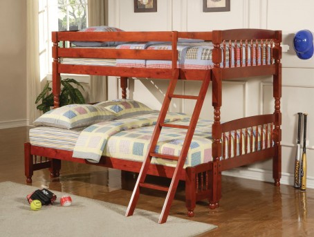 Coral Twin/Full Bunk Bed Available Online in Dallas Fort Worth Texas