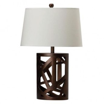 Coaster Crown Brown Table Lamp with Shade Available Online in Dallas Fort Worth Texas