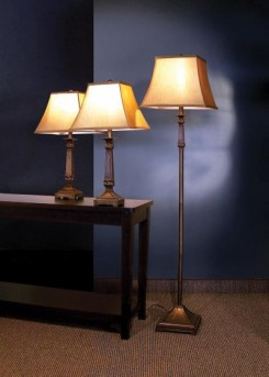 Coaster Dia 3pc Brown Lamp Set Available Online in Dallas Fort Worth Texas