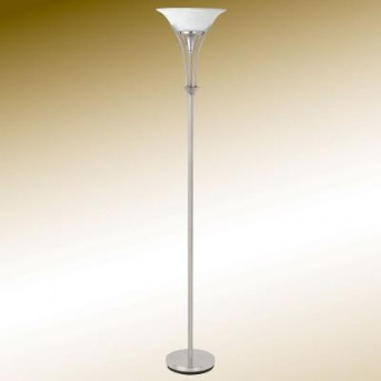 Coaster Classy Brushed Silver Floor Lamp Available Online in Dallas Fort Worth Texas