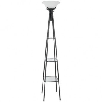 Coaster Classy Charcoal Black Floor Lamp Available Online in Dallas Fort Worth Texas