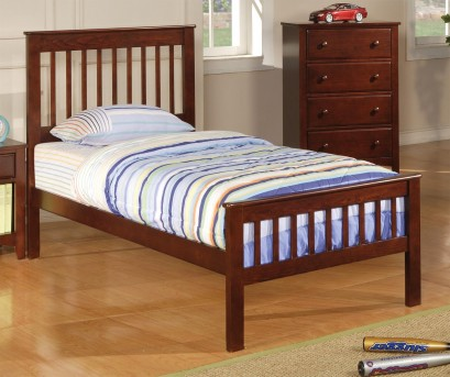 Coaster Parker Mission Twin Bed Available Online in Dallas Fort Worth Texas