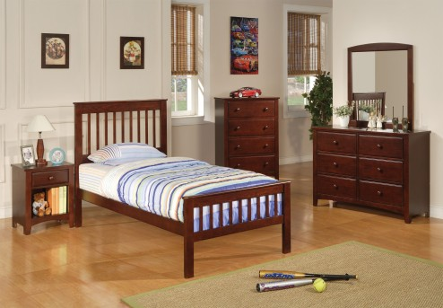 Parker Mission 5pc Twin Bedroom Group Available Online in Dallas Fort Worth Texas