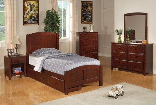 Parker Storage 5pc Twin Bedroom Group Available Online in Dallas Fort Worth Texas