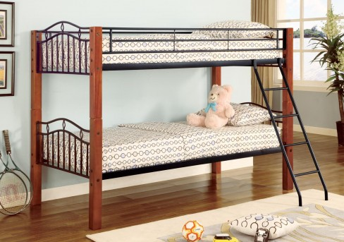 Coaster Haskell Twin/Twin Bunk Bed Available Online in Dallas Fort Worth Texas