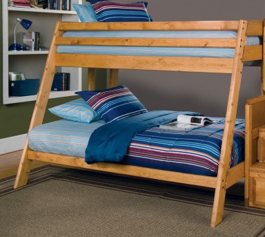 Coaster Wrangle Hill Twin/Full Bunk bed Available Online in Dallas Fort Worth Texas
