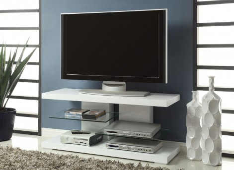 Coaster Powder White 47in TV Console Available Online in Dallas Fort Worth Texas