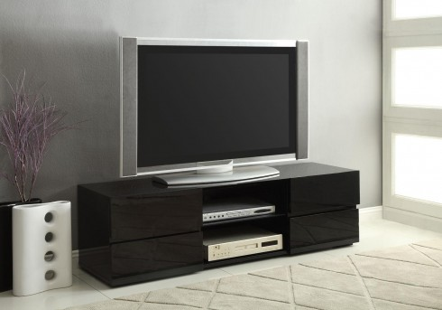 Coaster The Breiten Black 55in TV Console Available Online in Dallas Fort Worth Texas