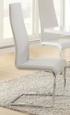 Nameth White Side Chair Available Online in Dallas Fort Worth Texas