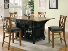 Coaster Carter Two-Tone Kitchen... Available Online in Dallas Fort Worth Texas
