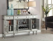 Coaster Mirrored 60in Accent Cabinet Available Online in Dallas Fort Worth Texas