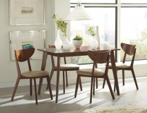 Coaster Kersey Chestnut Dining Table Available Online in Dallas Fort Worth Texas