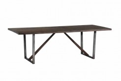 Coaster Genoa Brushed Cocoa Dining Table Available Online in Dallas Fort Worth Texas