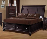 Sandy Beach Cappuccino King Storage Bed Available Online in Dallas Fort Worth Texas