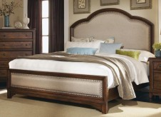 Laughton King Upholstered Bed Available Online in Dallas Fort Worth Texas